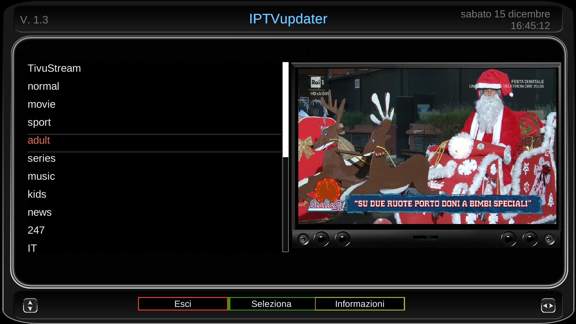Plugin] IPTVupdater   Lululla Joy